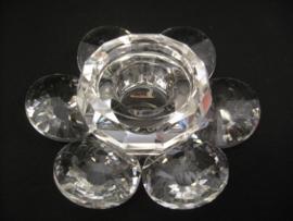 Sfeerlicht - kristal lotus - groot