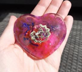 Orgonite - hart - hartchakra - no.1