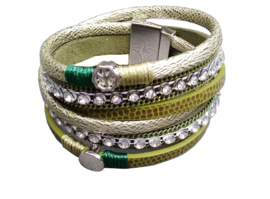 armband Ibiza - groen