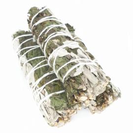 Witte Salie met Pepermuntblad - Smudge Sticks - 10 cm