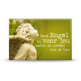 Magneet - Engel voor jou - 8cm