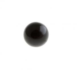 Klankbol - zwart - 16 mm of 20 mm