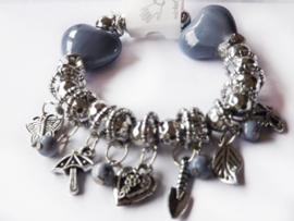 Armband - Blue heart