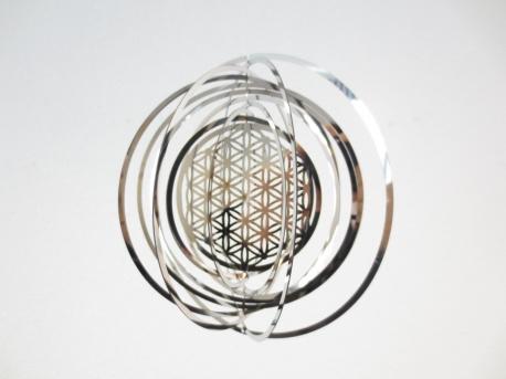Spinner - Flower of life - Levensbloem - 18cm