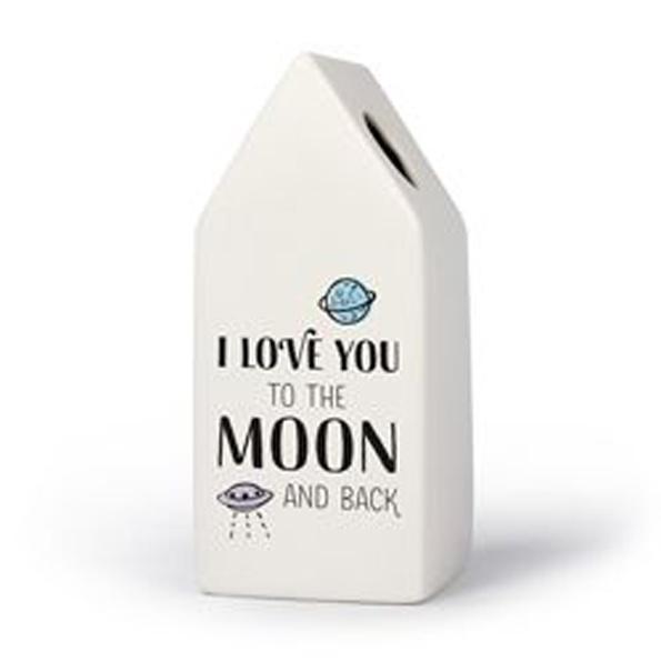 Huisvaasje - I love you to the moon