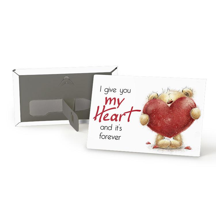 Magneet - Heart - 8cm