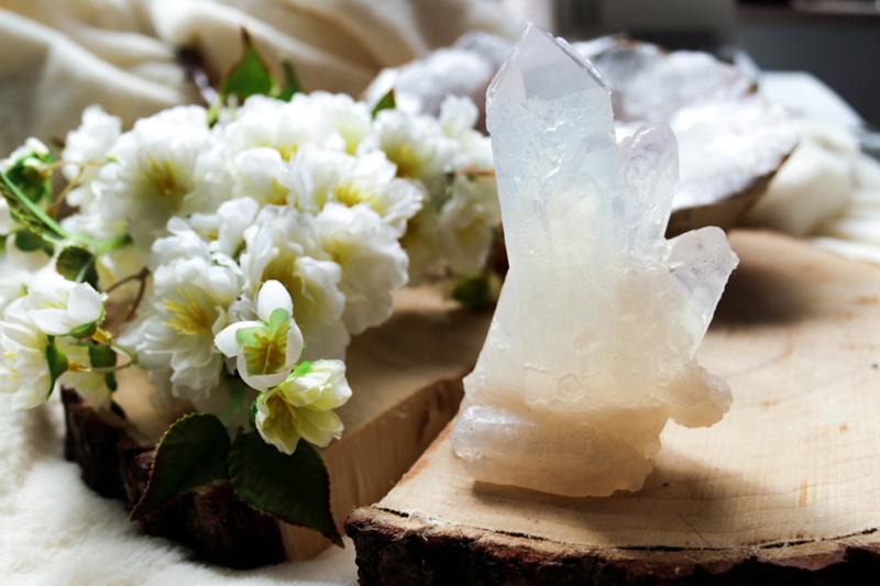 Bergkristal Zeep - Groot - Lotusbloem