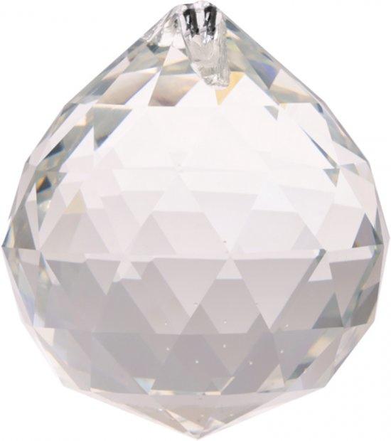 Raamhanger - Regenboog kristal Bol - AAA kwaliteit - 5 cm - transparant
