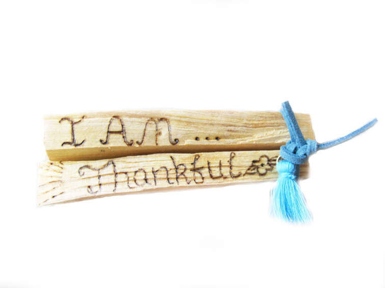Palo Santo Heilig Hout Set - I am & Thankful