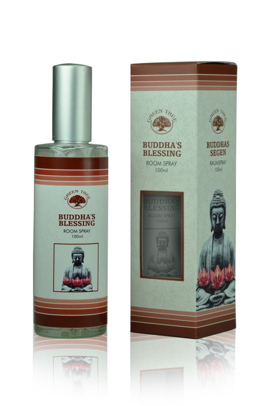 Buddha's Blessing - Roomspray - 100 ml - Green Tree