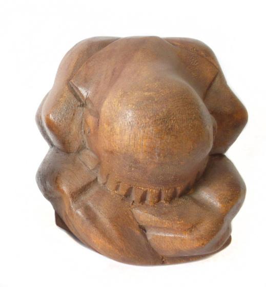 Boeddha - Yogiman - 15cm - hout