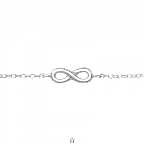 Armband - Infinity - Oneindigheid - 925 Sterling Zilver