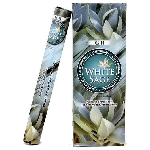 Wierook - witte Salie - hexagrampak