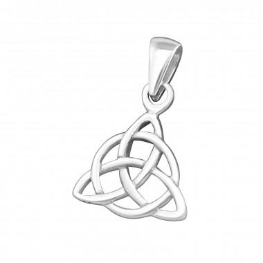 Hanger - Keltische knoop - Zilver