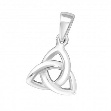 Hanger - Keltische knoop - 925 Sterling Zilver - 10mm