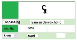 Kommerling 9007 Schwarz  (200 Mtr)