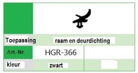 Kommerling 9004 Zwart rol (25 M)