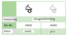 Veka 45540 Schwarz (300 Mtr)