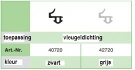 Veka 40720 Schwarz (400 Mtr)
