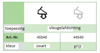 Veka 112.030 Zwart volle doos (300 M)