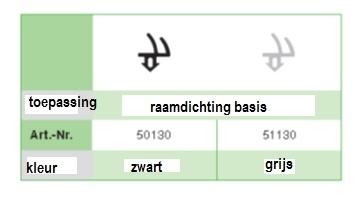 Rehau 864952 Zwart volle doos (400 M)