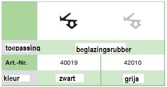 Veka S834 Zwart volle doos (500 M)
