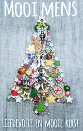 40 kerst / nieuwjaars kaartjes met verzenddoosjes