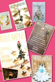 30 kerst / nieuwjaars kaartjes zonder verzend doosjes