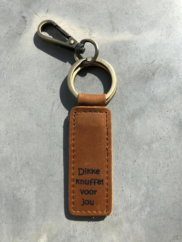 SLEUTELHANGER  DIKKE KNUFFEL VOOR JOU