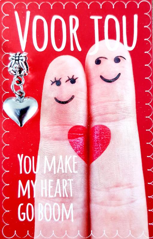 YOU MAKE MY HEART GO BOOM