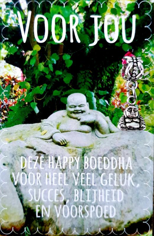 DEZE HAPPY BOUDDHA VOOR VEEL GELUK ( met happy bouddha)
