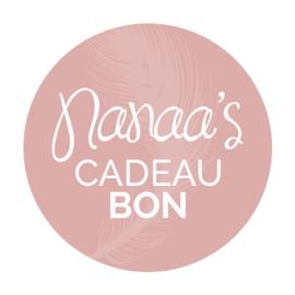 Nanaa's cadeaubon