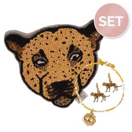 Sieradenset 'Leopard'