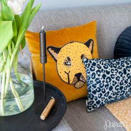 Interieurset 'Leopard Ochre'