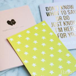 Set kaarten 'For you' (3 st.)