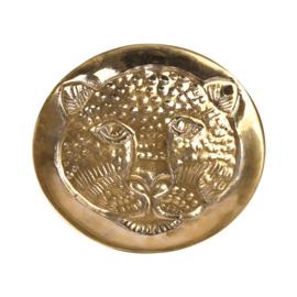Schaaltje 'Luipaard' brass