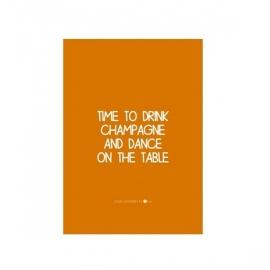 Kaart 'Champagne'