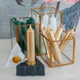 Pennenbak goud glas