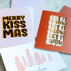 Set kaarten 'Kerst' (3 st.)