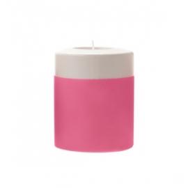 Waxinelichthouder 'Dip-it' neon roze