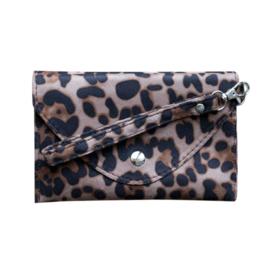 Tasje luipaard beige