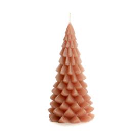 Kerstboom kaars groot 'Brique'
