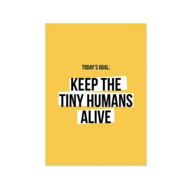 Kaart 'Tiny humans'