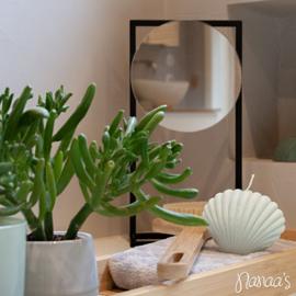 Staande spiegel 'Gong'