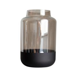 Vaas rookglas zwart
