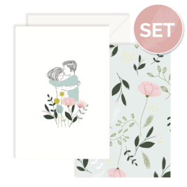 Set kaarten 'Lovers' (2 st.)