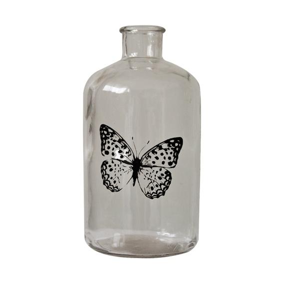 Fles insect 'Vlinder'