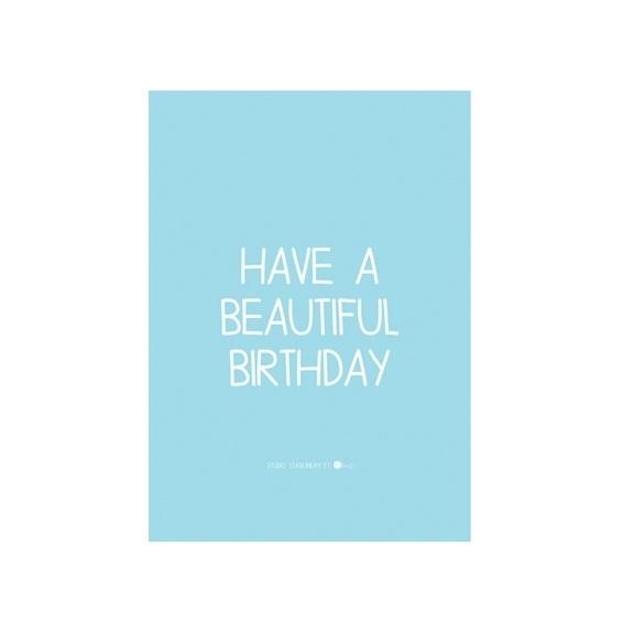 Kaart 'Birthday'