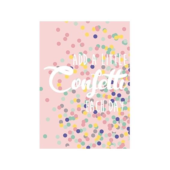 Kaart 'Confetti'