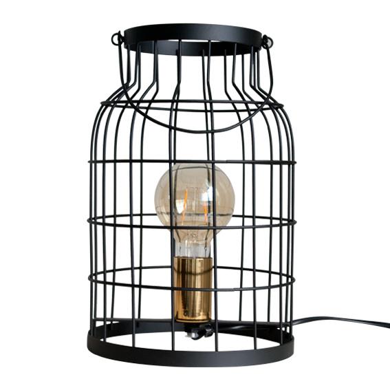 Tafellamp 'Kooi' zwart